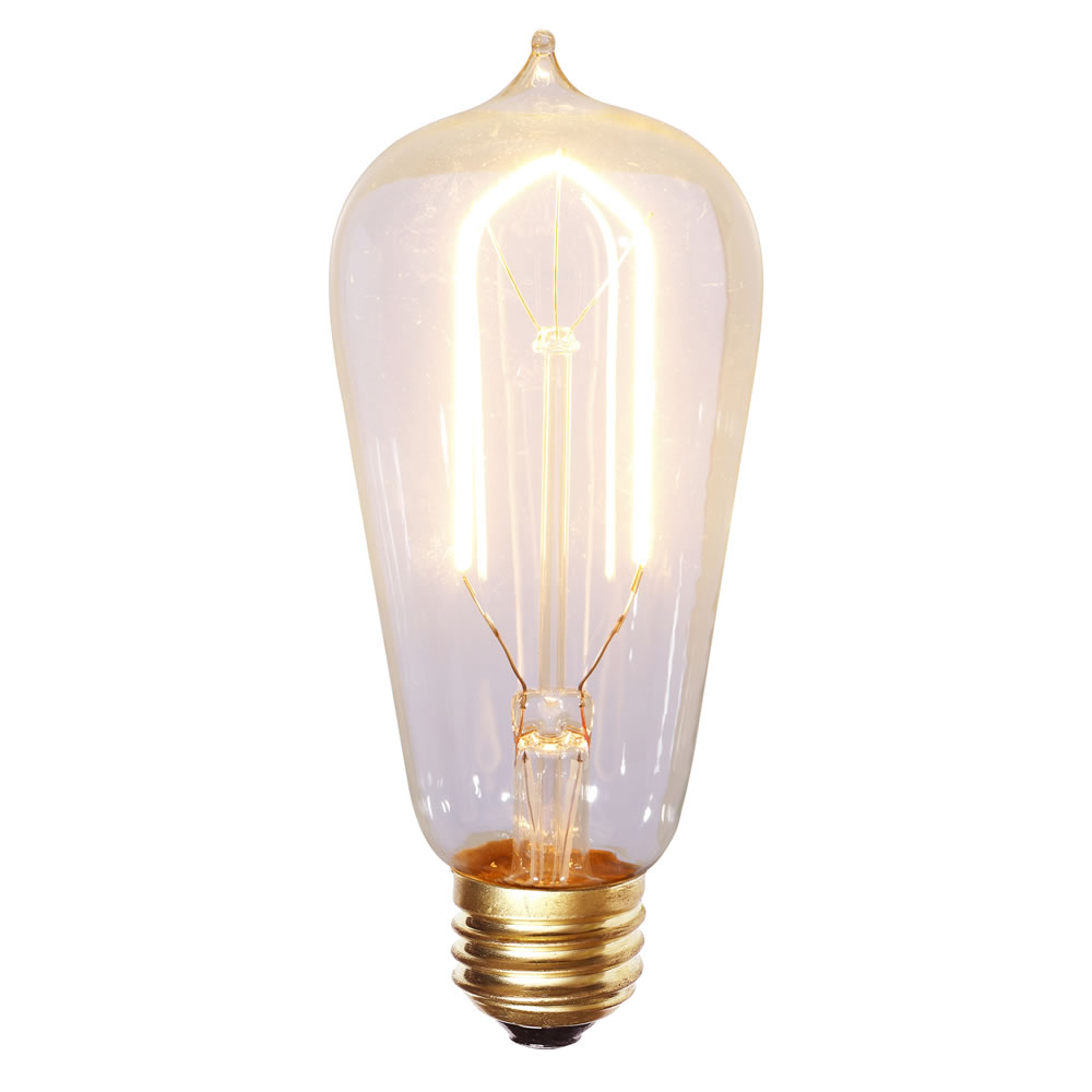 ST58 WARM WHITE LED FILAMENT E26 BULB