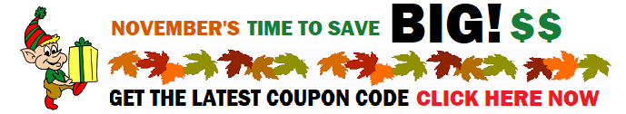 """Welcome to  NOVEMBER TIME TO SAVE BIG SALE EVENT. It's already  November and it's beginning to feel a """"little"""" like Christmas."""