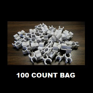 Wire Frame Clips 100 Count Bag