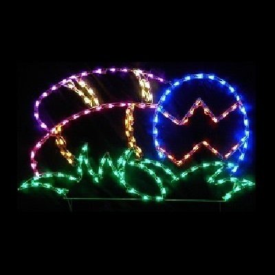 Lighted outdoor decorations lighted easter decorations easter for a larger view of this item aloadofball Images