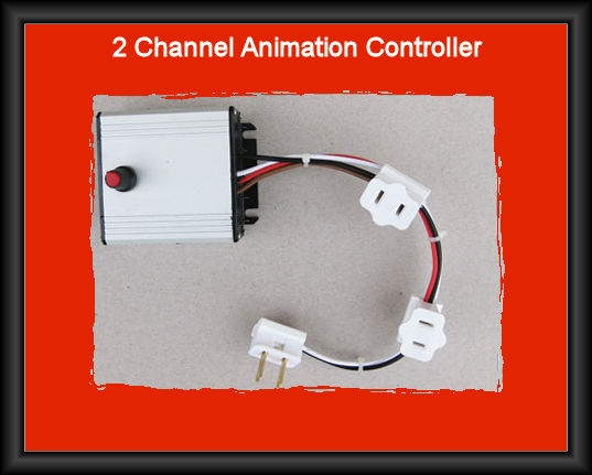 Animation Box 2 Channel for LED Lighted Outdoor Christmas Decoration