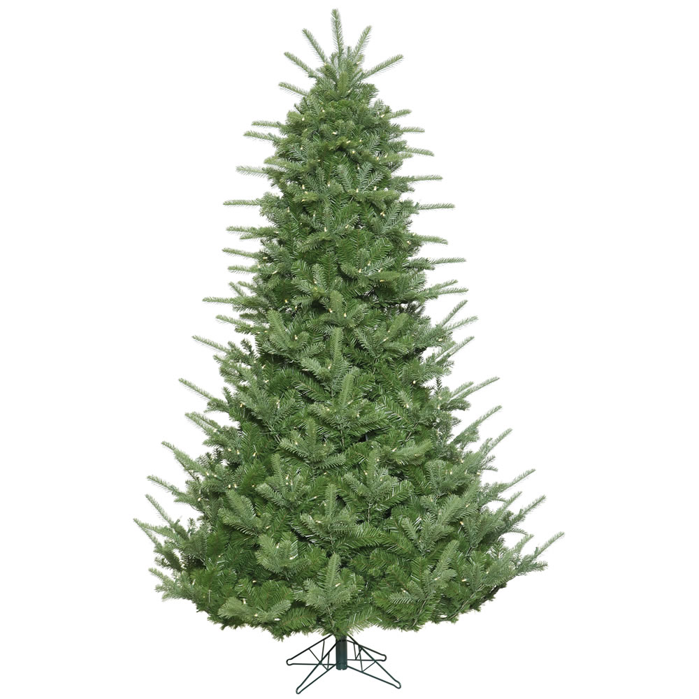 7.5 Foot Sheridan Spruce Artificial Christmas Tree 800 LED M5 Italian Warm White Mini Lights