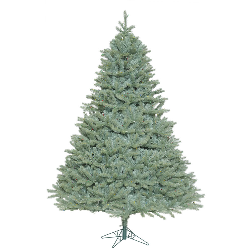 7.5 Foot Colorado Blue Spruce Artificial Christmas Tree Unlit