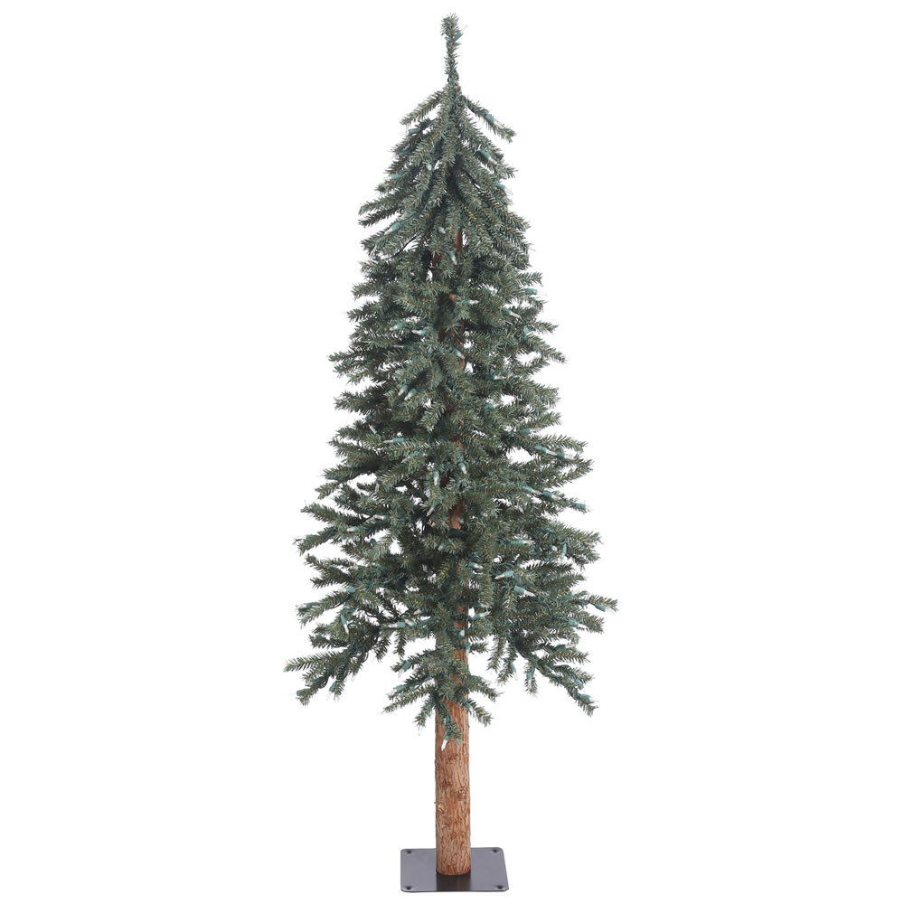 5 Foot Natural Bark Alpine Artificial Christmas Tree Unlit
