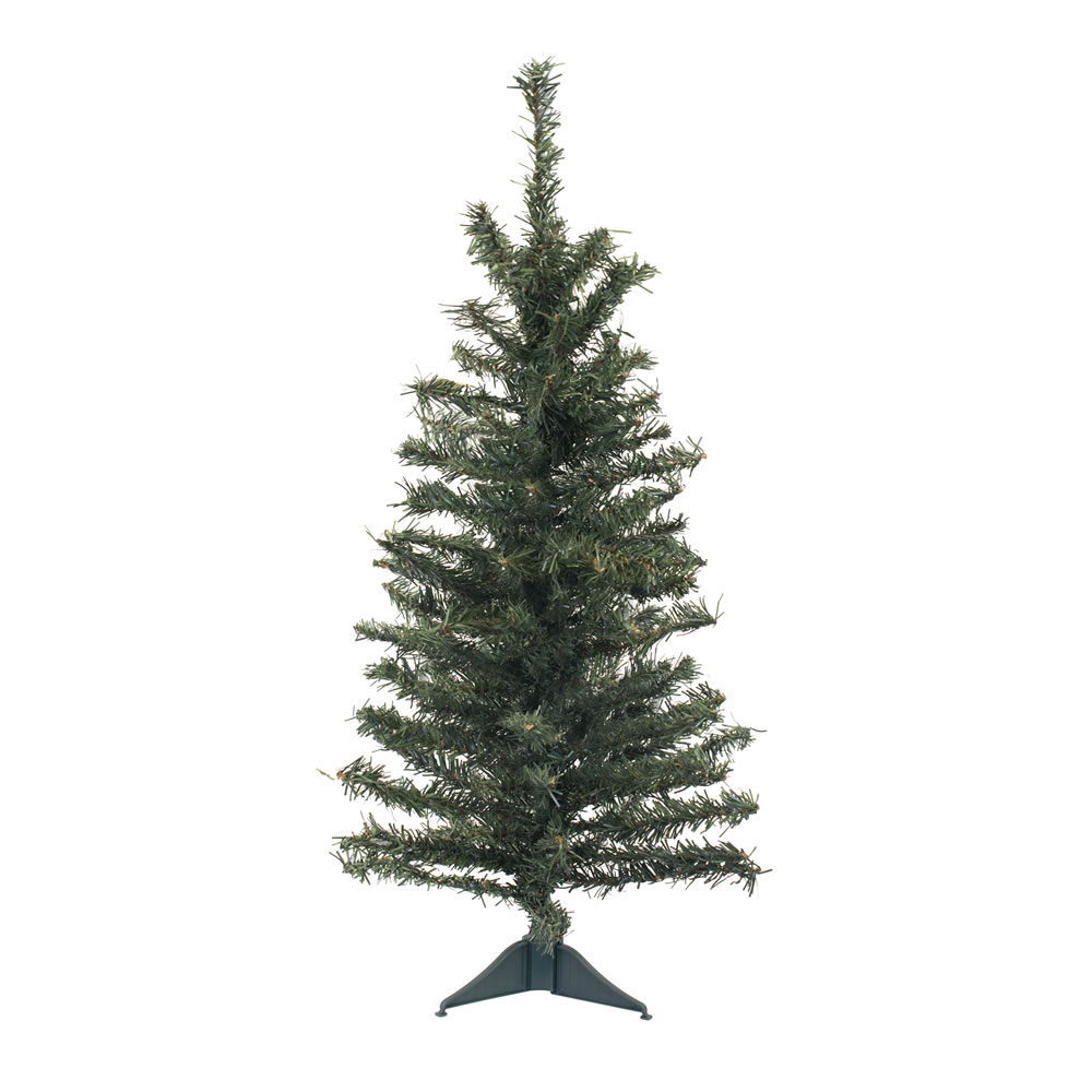 2 Foot Canadian Pine Artificial Christmas Tree Unlit