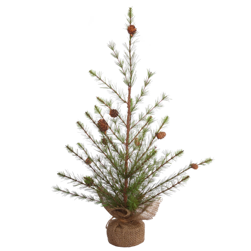 2 Foot Missoula Pine Artificial Christmas Tree Unlit