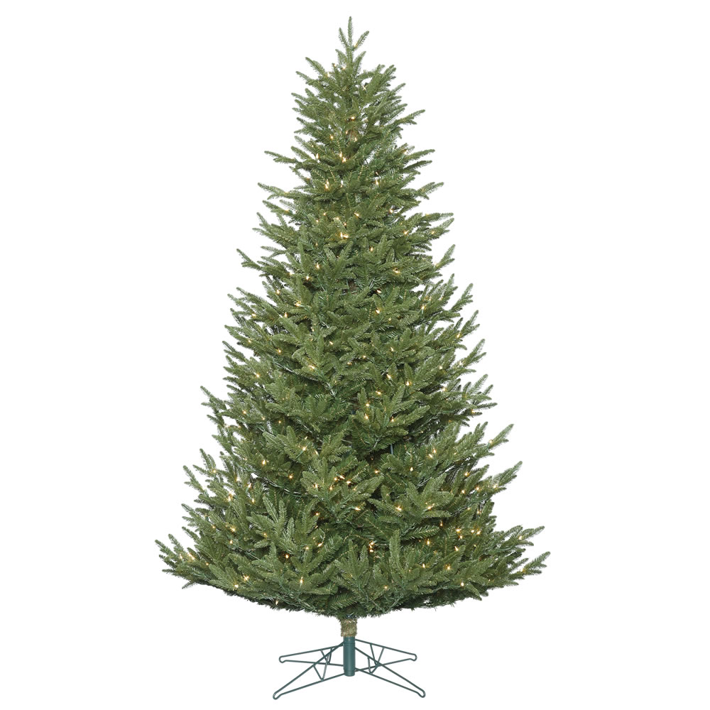 14 Foot Deluxe Frasier Fir Artificial Giant Christmas Tree 1950 DuraLit Incandescent Clear Mini Lights