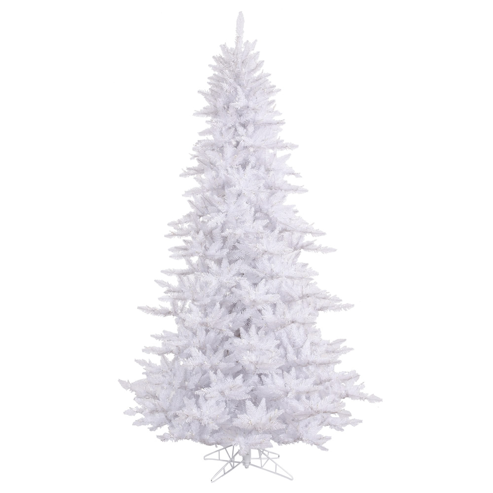 5.5 Foot White Fir Artificial Christmas Tree Unlit