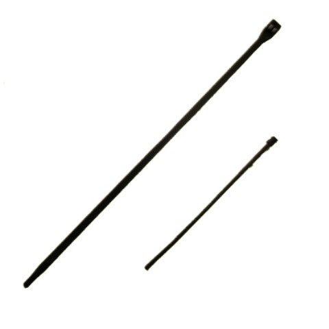 4 Inch Black Plastic Cable Ties Pack of 100