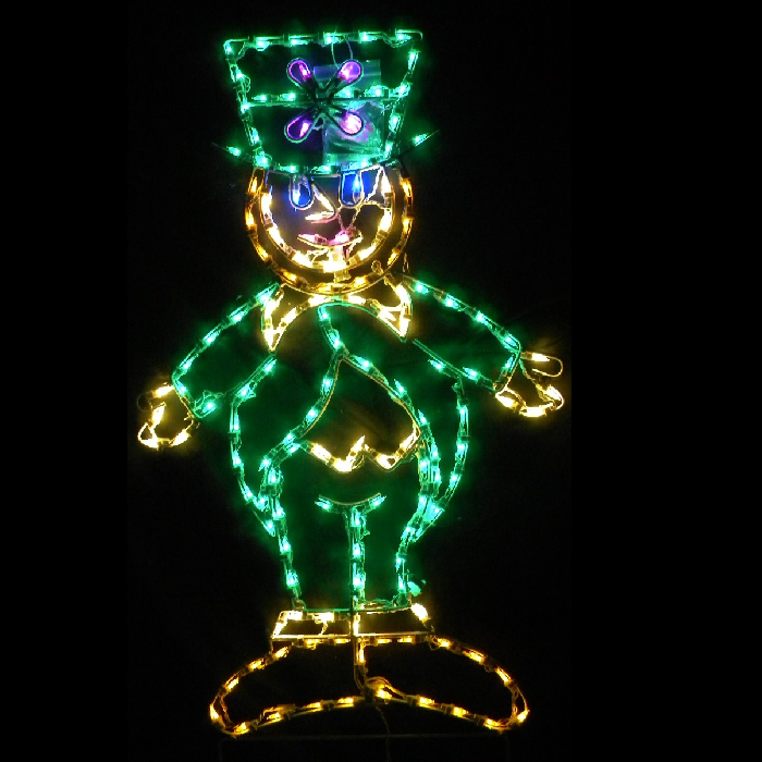 Leprechaun LED Lighted Outdoor Saint Patricks Day Decoration