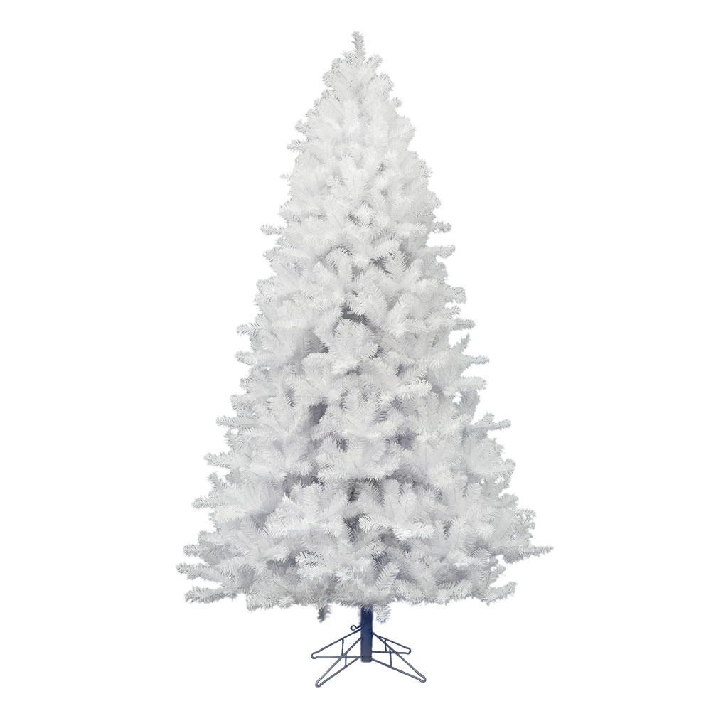 15 Foot Crystal White Pine Artificial Commercial Christmas Tree Unlit