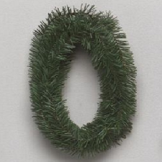 18 Foot Canadian Pine Roping Artificial Christmas Garland Unlit Set of 12