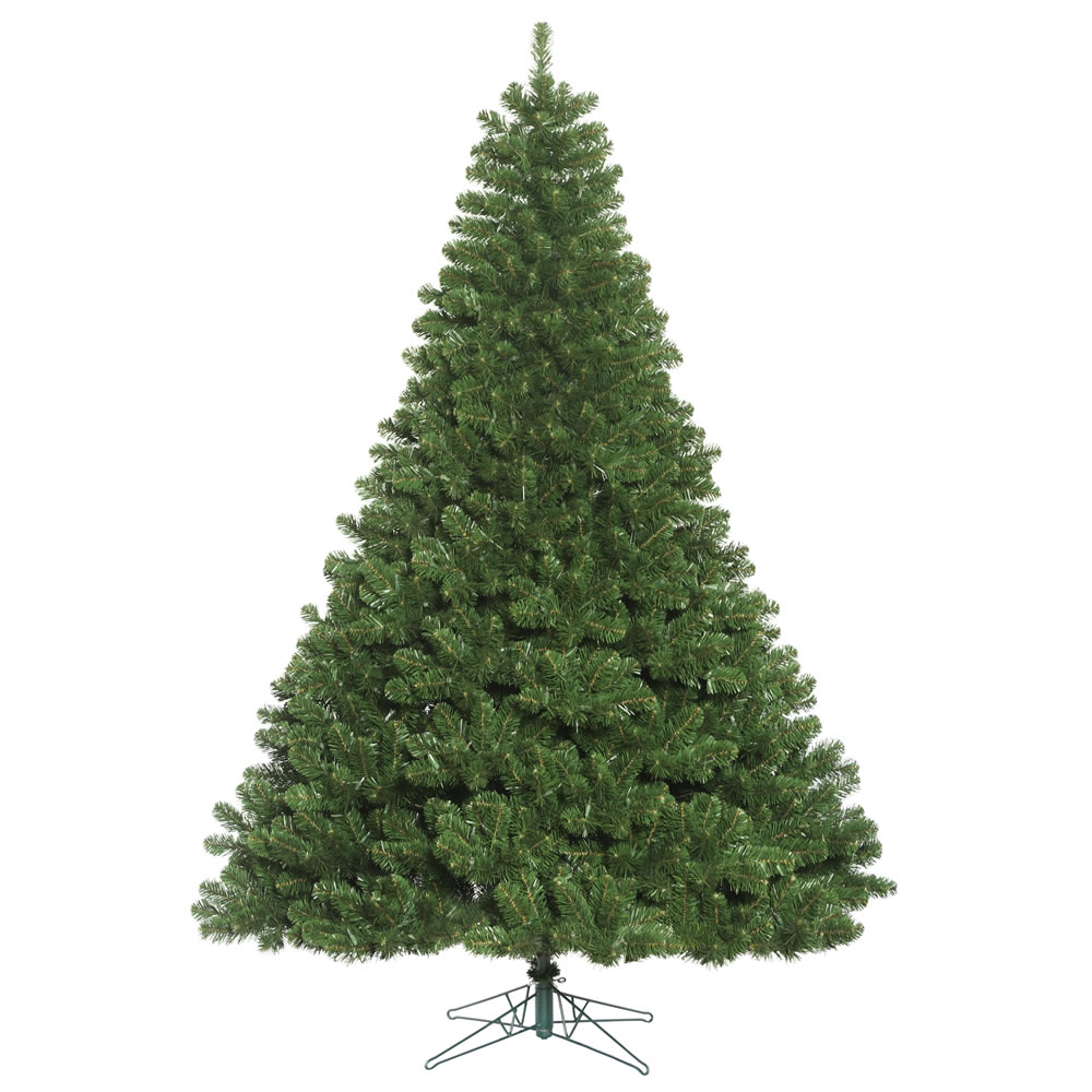 95 foot oregon fir artificial christmas tree unlit