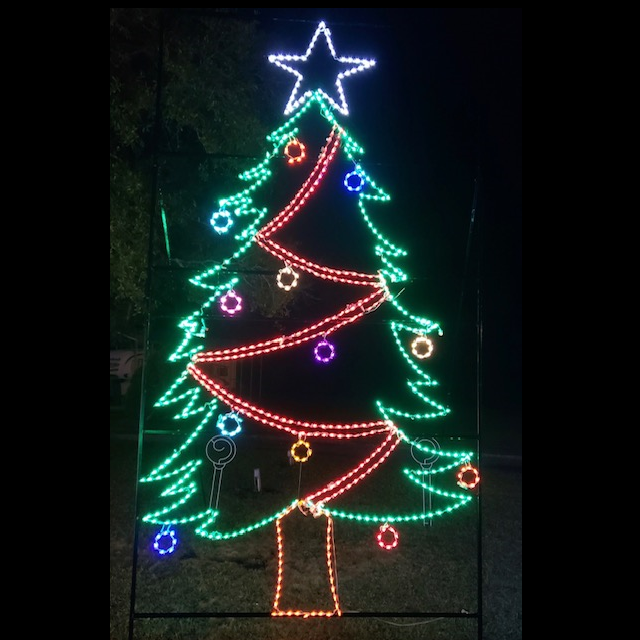 Christmas Tree LED Lighted Outdoor Commercial Christmas Decoration