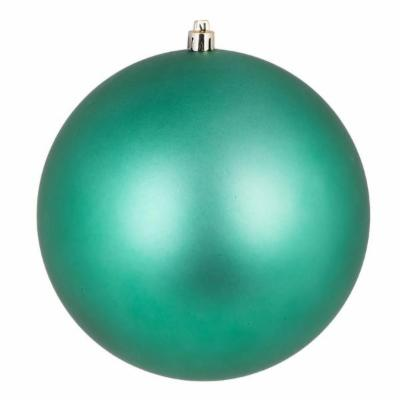 12 Inch Seafoam Candy Round Shatterproof UV Christmas Ball Ornament