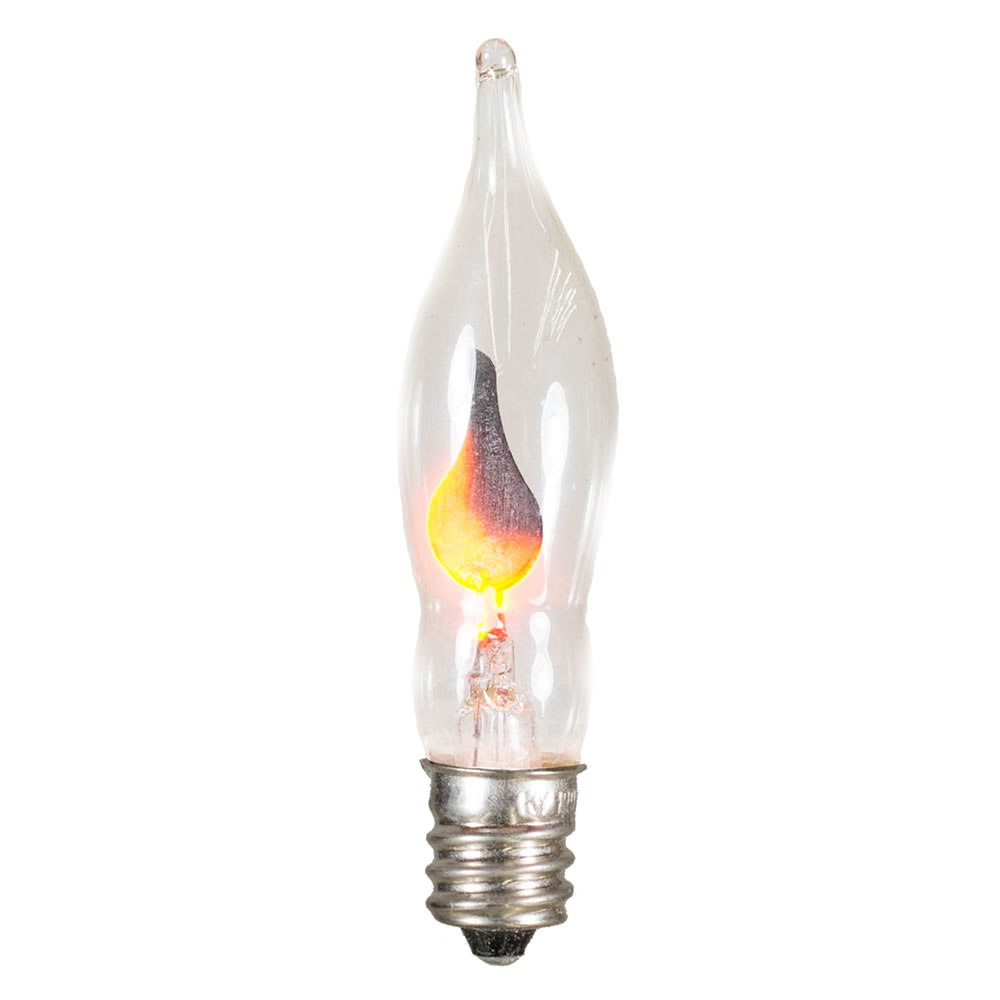 5 C7 Flickering Flame Night Light Retrofit Replacement Bulb