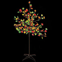 5 Foot Fall LED Maple Tree 180 Lights