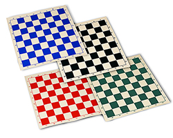 Black Roll Up Chess Mat