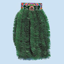 18 Foot Green Tinsel Garland Box of 12