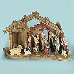 18 Inch Nativity Set 11 Figures