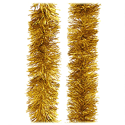 30 Foot Gold Tinsel Garland Box of 6