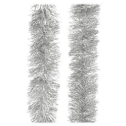 30 Foot Silver Tinsel Garland Box of 6