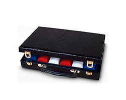 300 Piece Vinyl Poker Case
