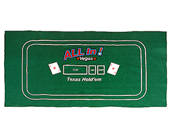 Texas Hold'em Game Layout