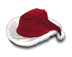 Country Cowboy Christmas Santa Hat