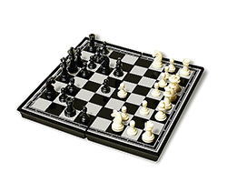 Plastic Magnetic Chess Board
