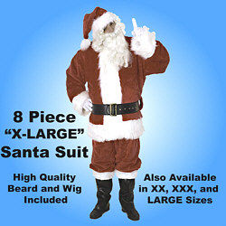 Ultra Deluxe Santa Suit Set X Large