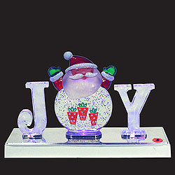 9 Inch Musical Joy Tabletop Christmas Decoration