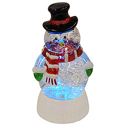 Battery Operated Color Changing LED Motorized Water Globe Decoration
