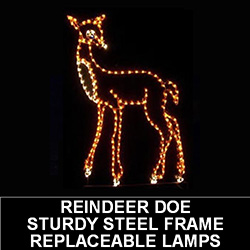 Doe LED Lighted Outdoor Lawn Decoration
