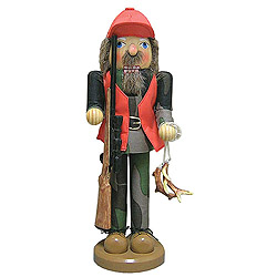 Deer Hunter Nutcracker Decoration