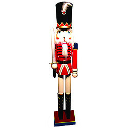 60 Inch Red Royal Guard Nutcracker With Sword