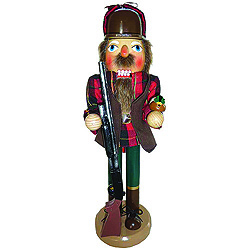 Duck Hunter Nutcracker Decoration