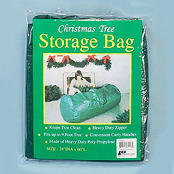 60 Inch Christmas Tree Storage Bag Box of 6