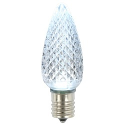 25 C9 LED Cool White Retrofit Replacement Bulbs