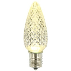 25 C9 LED Sun Warm White Retrofit Replacement Bulbs