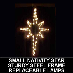 Nativity Star of Bethlehem LED Lighted Christmas Outdoor Decoration