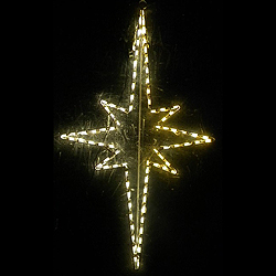 Lighted outdoor decorations lighted star decorations nativity star of bethlehem large animated led lighted outdoor christmas decoration aloadofball Images