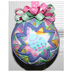 Bouquet Round Ornament Easter Decorations