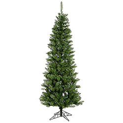 8.5 Foot Salem Pencil Pine Artificial Christmas Tree Unlit