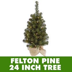 2 Foot Felton Pine Artificial Christmas Tree - Unlit