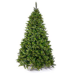 7.5 Foot Cashmere Pine Artificial Christmas Tree Unlit