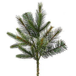 Cashmere Pine Decorative Artificial Christmas Spray Unlit