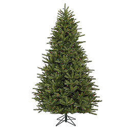 7.5 Foot Medium Majestic Artificial Christmas Tree 950 DuraLit Multi Lights