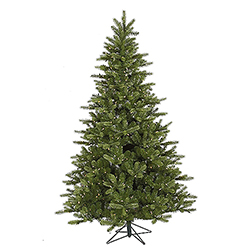 5.5 Foot King Spruce Artificial Christmas Tree 250 LED Warm White Lights