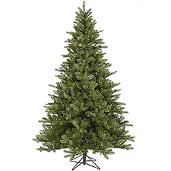 7.5 Foot King Spruce Artificial Christmas Tree 700 DuraLit Clear Lights